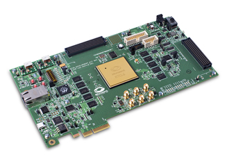 The industry's first radiation-tolerant FPGA kit