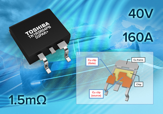 Automotive power MOSFETs expand with low resistance device
