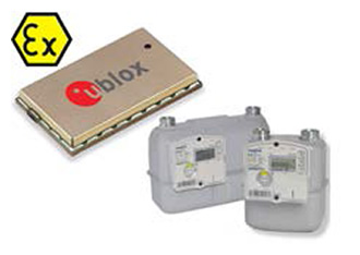 ATEX certified GSM/GPRS module selected for gas metering