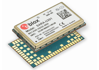 3G/2G cellular module suits tracking & IoT applications