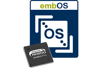 embOS port for automotive RH850 microcontrollers