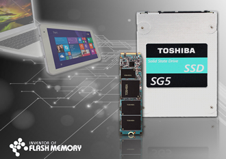 High capacity SSD embeds TLC NAND Flash memory