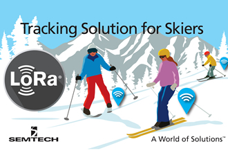 Semtech LoRa technology keep skiers safe in the Alps