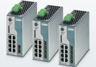 Switches suit high-availability Ethernet/IP networks