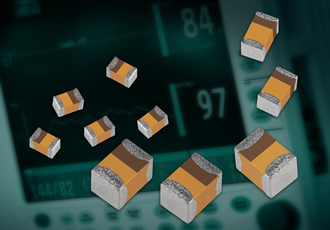 Solid tantalum capacitors target medical applications