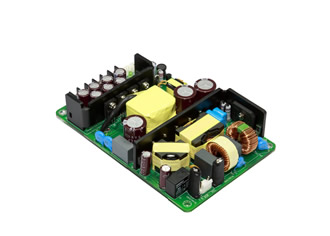 "Medical AC/DC power supply features 4"" x 6"" footprint"