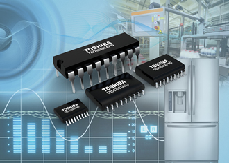 Transistor arrays integrate DMOS FET type source-output driver