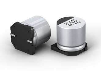 Capacitors offer low ESR & high capacitance values