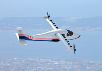NASA unveils experimental electric aeroplane