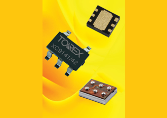 0.8A step-up DC/DC converters feature load disconnection function