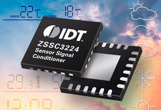 Sensor signal conditioner integrates 26-bit DSP