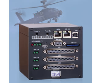 Hardware and avionics I/O support apache simulator