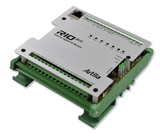 I/O controller module equipped with RTOS