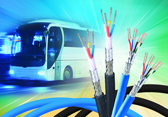 Ethernet cables offer fire resistance to improve passenger safety