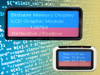 Displays use bi-stable technology