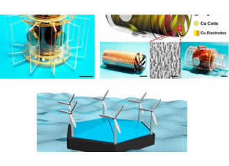 Hybrid nanogenerator harvests ocean waves