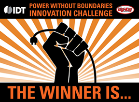 Winners of Wireless Power Contest announced