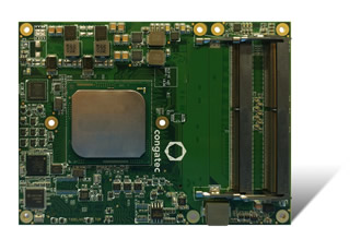 First COM Express Type 7 modules with Intel Xeon D processors