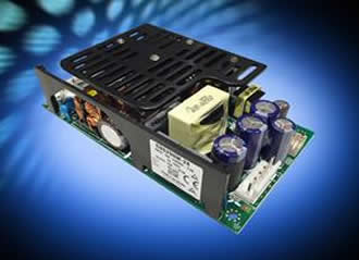 "High efficiency 3x5"" medical power supply delivers 250W"