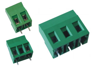 PCB terminal blocks available in range of power ratings