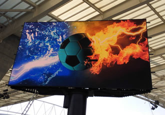 LED displays upgraded at Porto's football stadium