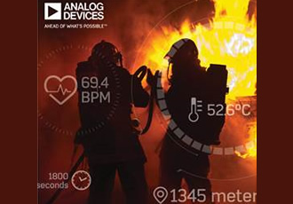 IoT solution for health and safety of first responders