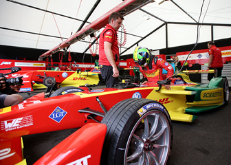E-mobility motor racing sees Formula E runner-up