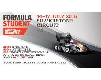 Formula student event at Britain's iconic Silverstone circuit