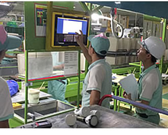 IoT innovates production in Vietnam factory