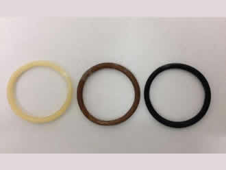 Graphene increases elasticity and strength of rubber