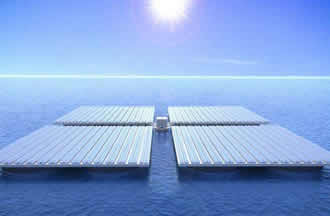 Floating solar platforms are resistant and save space