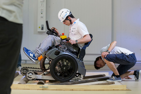 """Scewo"" wheelchair to be shown at the Cybathlon"