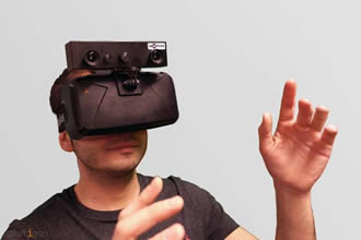 Gesture recognition bought to embedded virtual reality platforms