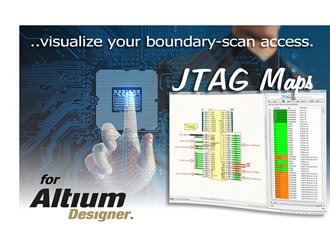 Know your boundary-scan net access with JTAG Maps