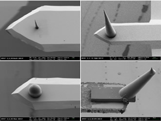 3D laser lithography enhances microscope