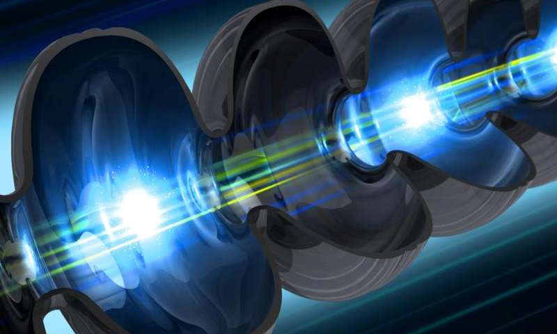 Boosting power of the world's brightest X-ray laser