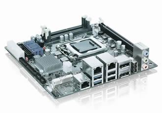 Single board computer pITX-iMX8M for superior graphics