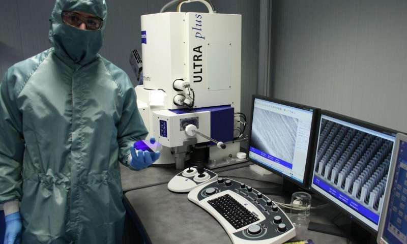 Nanostructures allow diseases or allergens to be detected