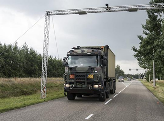Field trial with over 100 military vehicles tests RFID technology
