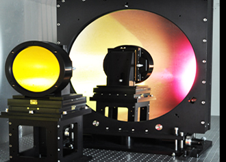 Powerful laser system achieved through beam expanders