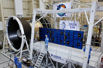 Orion spacecraft's solar array successfully put to the test