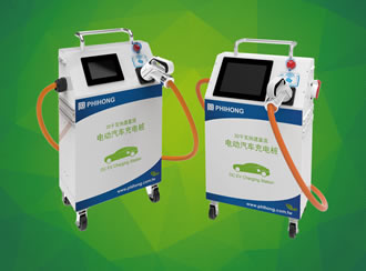 Moveable EV DC chargers compliant with Chinese national GB/T standards