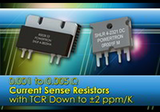 High precision current sense resistors help upgrade systems