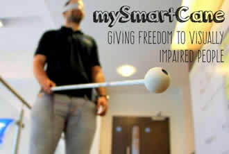 Prototype smart cane transforms lives of the blind