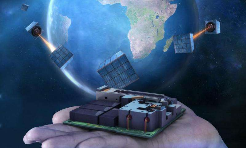 Quantum satellite device to be used for global network