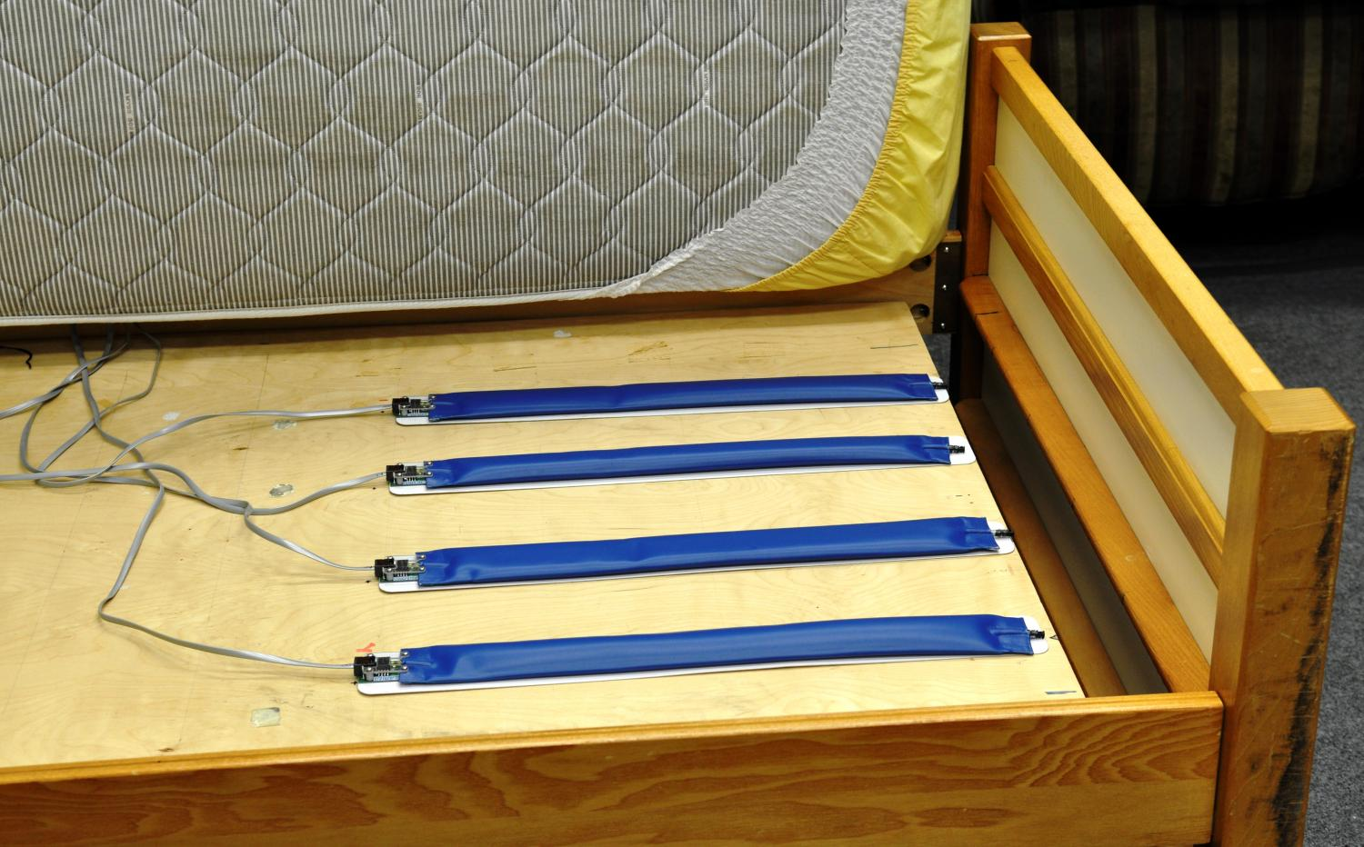 Bed sensors help detect problems early