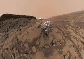 NASA's Curiosity drives toward uphill destinations