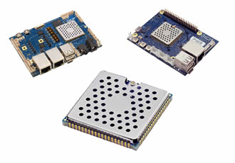 Rapid embedded connectivity provided by intelligent module