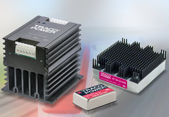8 to 200W DC/DC converters suitable for the railway industry