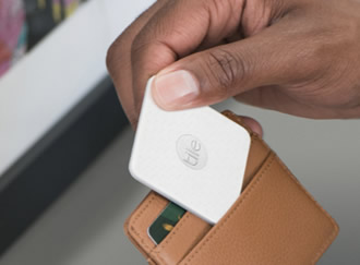 The world's thinnest Bluetooth tracker helps located missing items